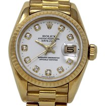 Rolex Lady-Datejust 69178 Good Yellow gold 26mm Automatic