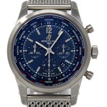 Breitling Transocean Unitime Pilot new 2018 Automatic Chronograph Watch with original box and original papers AB0510