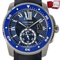 Cartier Calibre de Cartier Diver Steel 42mm Blue United States of America, Florida, Miami