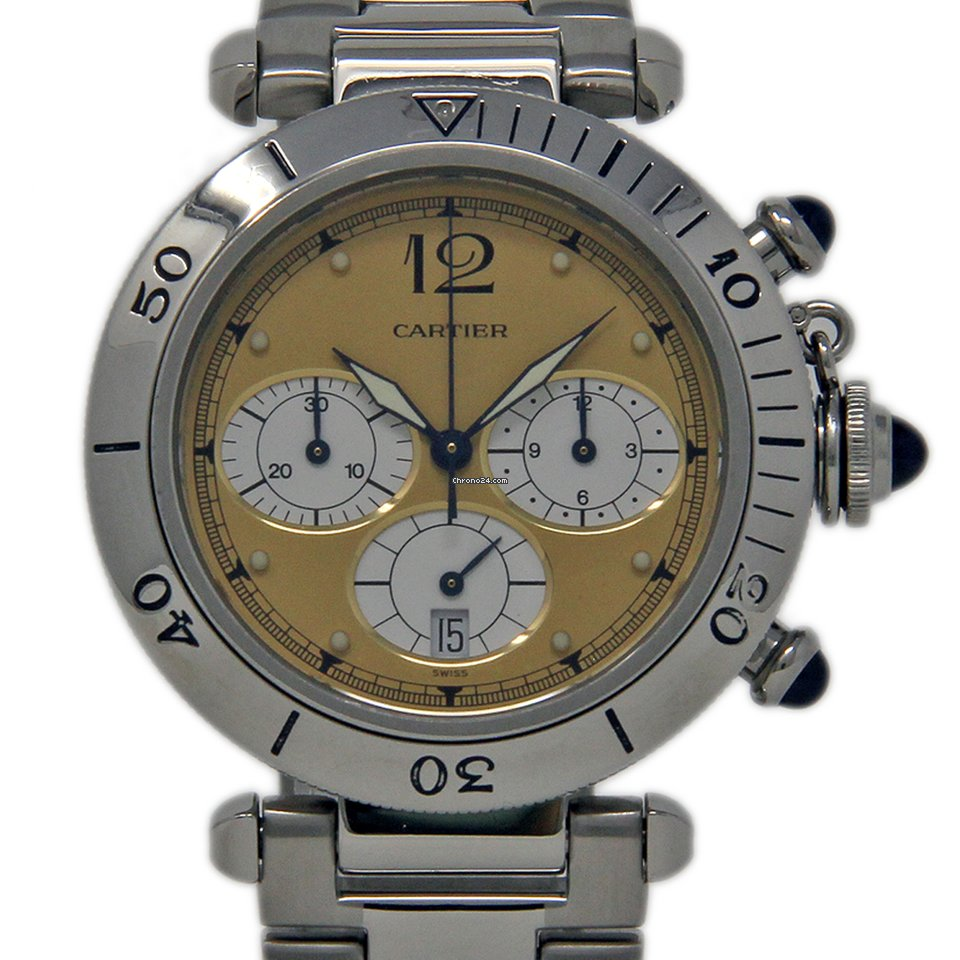 Cartier Pasha W31004H3 1992 pre-owned
