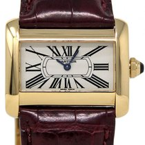 Cartier W6300356 Yellow gold 2010 Tank Divan 25mm pre-owned United States of America, Florida, Miami