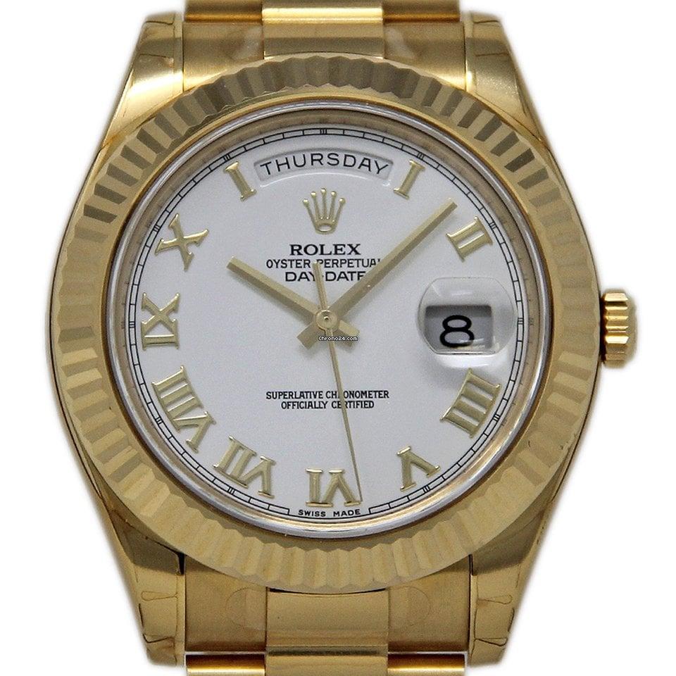 Rolex Day-Date II 218238 2016 nuevo