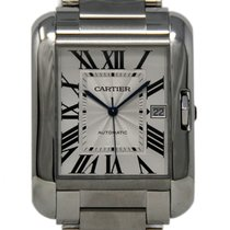 Cartier Tank Anglaise new 2018 Automatic Watch with original box and original papers W5310008