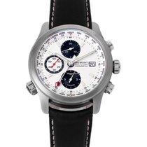 Bremont ALT1-WT World Timer Acier 43mm Blanc Sans chiffres