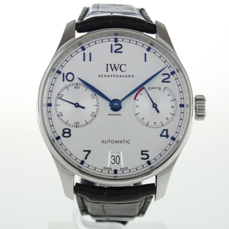 IWC Portuguese Automatic IW500705 2018 подержанные