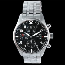 IWC IW377704 Steel 2016 Pilot Chronograph 43.00mm new United States of America, California, Burlingame