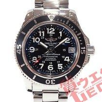 Breitling Superocean II 36 Acero 36mm Negro