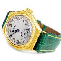 Rolex Gelbgold 32mm Weiß Arabisch