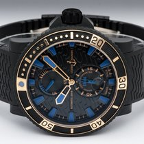 Ulysse Nardin Diver Black Sea Золото/Cталь 45.8mm Чёрный Без цифр
