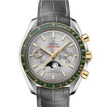 Omega 304.23.44.52.06.001 Acero y oro 2020 Speedmaster Professional Moonwatch Moonphase nuevo