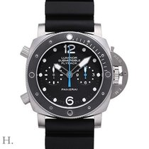 Panerai Luminor Submersible 1950 3 Days Automatic Titanio 47mm Negro Arábigos España, España