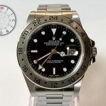 Rolex Explorer II Stahl 40mm Schwarz Keine Ziffern Schweiz, Chiasso