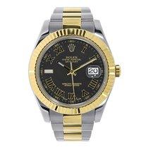 Rolex Datejust II Steel 41mm Black Roman numerals United States of America, New York, New York