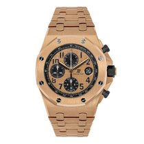 Audemars Piguet Royal Oak Offshore Chronograph Or rose 42mm Rose Arabes