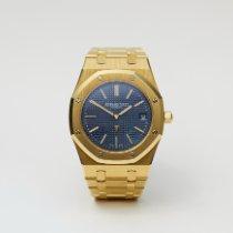 Audemars Piguet Royal Oak Jumbo Żółte złoto 39mm Niebieski