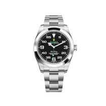 Rolex Air King Steel 40mm Black Arabic numerals United States of America, New York, New York