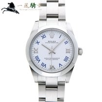 Rolex Oyster Perpetual 31 Steel 31mm White