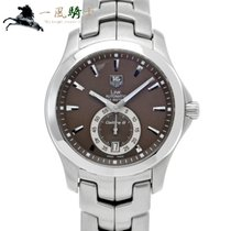 TAG Heuer Link Calibre 6 Steel 39mm Brown