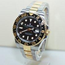 Rolex GMT-Master II Gold/Stahl 40mm Schwarz Keine Ziffern Deutschland, Essen