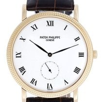 Patek Philippe Manual winding White Roman numerals 33mm pre-owned Calatrava