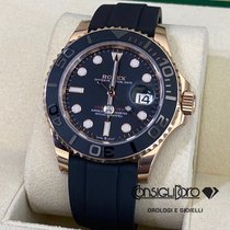 Rolex Yacht-Master 40 Oro rosa 40mm Negro Sin cifras