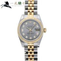 Rolex Lady-Datejust Stahl 26mm Grau