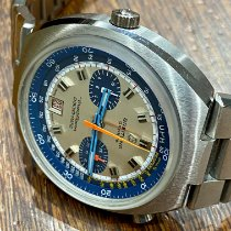 Breitling 2129 Сталь 1970 Transocean Chronograph 42mm подержанные