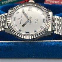 에테르나 스틸 35mm 자동 콘티키 중고시계
