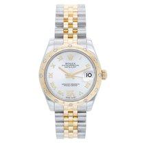 Rolex Lady-Datejust 31mm Silber Römisch
