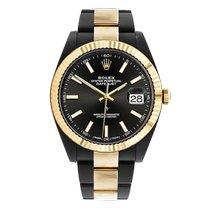 Rolex Datejust II Gold/Steel 41mm Black