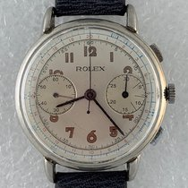 Rolex Chronograph Steel 38mm Silver Arabic numerals United States of America, California, Woodland Hills. We accept cryptocurrency