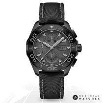 TAG Heuer Aquaracer 300M Steel 43mm Black No numerals