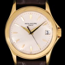 Patek Philippe Calatrava Yellow gold 37mm Silver United States of America, New York, New York