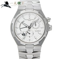 Vacheron Constantin Overseas Dual Time Steel 40mm Silver