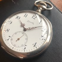 Zenith Pocket watch, 52mm, Louis XV hands, Old logo, Fully serviced occasion