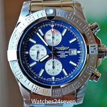 Breitling Super Avenger II Steel 24mm Blue Arabic numerals United States of America, Missouri, Chesterfield