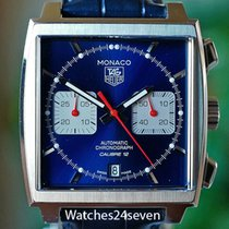 TAG Heuer pre-owned Automatic 22mm Sapphire crystal 10 ATM