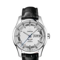 Omega De Ville Hour Vision neu 2020 Automatik Uhr mit Original-Box und Original-Papieren 431.33.41.22.02.001