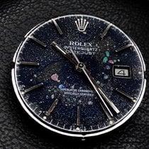 Rolex Datejust Oysterquartz Steel 36mm Black No numerals