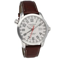 Louis Erard pre-owned Automatic 42,00mm Silver Sapphire crystal 10 ATM