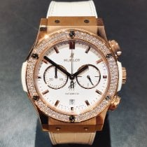 Hublot Classic Fusion Chronograph Rose gold 42mm White United Kingdom, Leicester