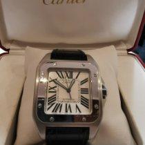 Cartier Santos 100 Acero Blanco Romanos España, Madrid