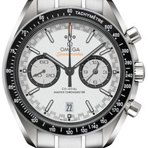 Omega Speedmaster Racing Steel White No numerals United States of America, Florida, Hollywood