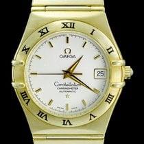 Omega Constellation Or jaune 36mm Blanc Sans chiffres