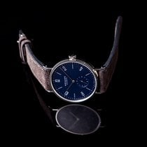 NOMOS Tangente 38 Steel 37.5mm Blue United States of America, California, Burlingame