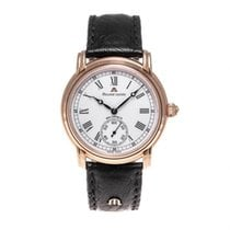 Maurice Lacroix Rose gold Manual winding White 38mm pre-owned Masterpiece