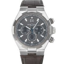 Vacheron Constantin Overseas Chronograph Steel 42.5mm Grey No numerals United States of America, Maryland, Baltimore, MD