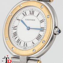 Cartier Santos (submodel) Acero y oro 28mm Blanco Romanos España, Madrid