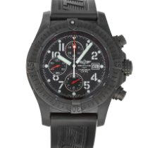 Breitling Super Avenger Steel 48mm Black Arabic numerals United States of America, Maryland, Baltimore, MD