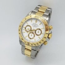 Rolex Daytona Gold/Steel 40mm White No numerals United States of America, New York, Woodbury